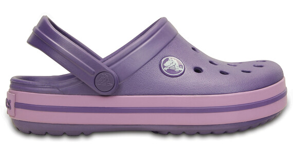 Crocs Crocband Clogs Kids Blue Violet/Iris